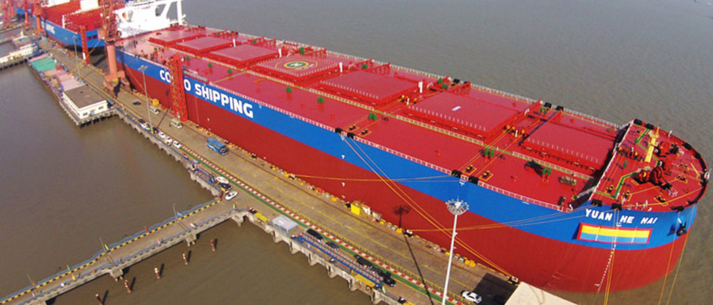 Cosco plans to acquire 25 bulk carriers