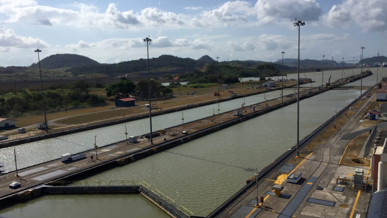PANAMA CANAL PLANS FOR TEN-DAY EAST LANE OUTAGE