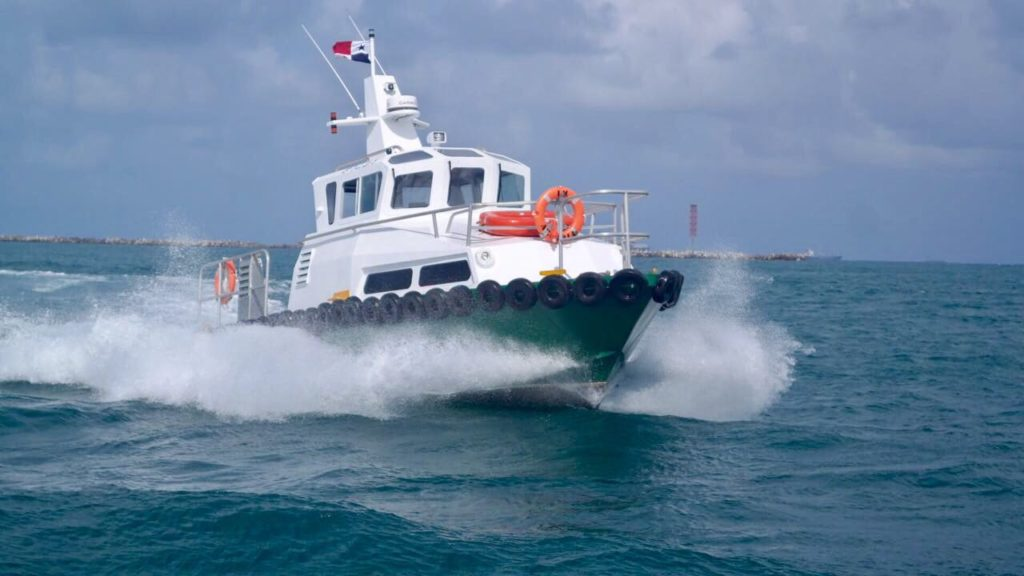 ARCADIA NEW PATROL BOAT FROM T&S SHIPBUILDING