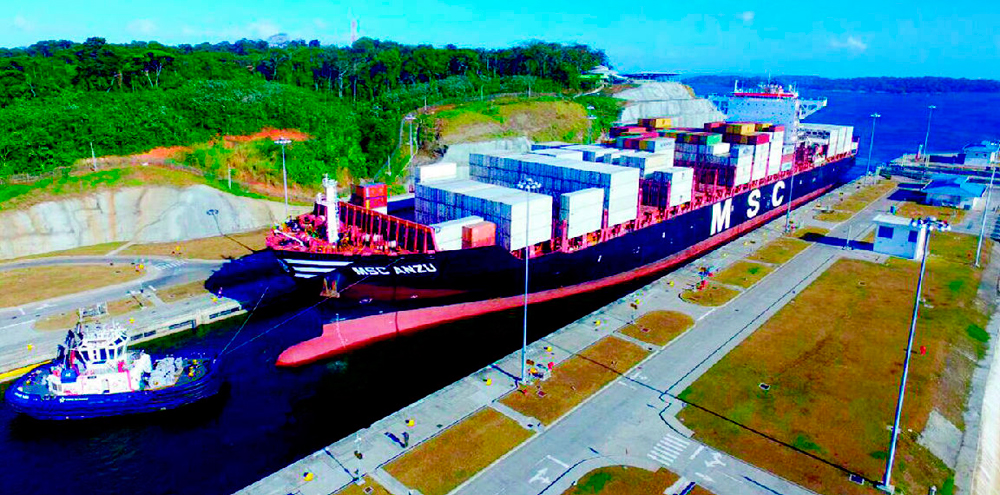 1,000 NEO-PANAMAX SHIPS CROSSED THE CANAL